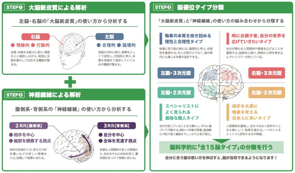 脳優位タイプ理論の概念